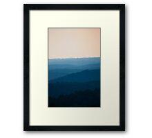 Calm Over the Hoyle Framed Print