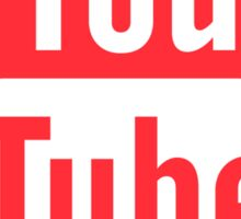 Youtube Icon #redbubble #trending #sticker Sticker