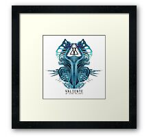 Xenomorph structure Framed Print