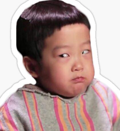 Lee Seojun side eye (The Return of Superman) Sticker