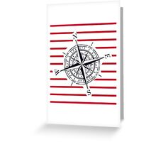 bigger compass Greeting Card