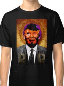 DEPLORABLE DONALD™, period. Classic T-Shirt