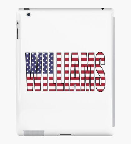 Williams (USA) iPad Case/Skin