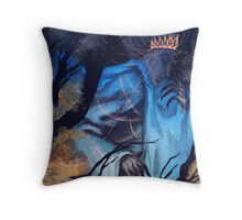 Forest Deity Throw Pillow