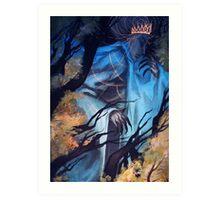 Forest Deity Art Print