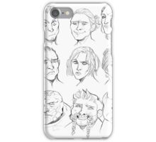Dragon age Origins companions iPhone Case/Skin