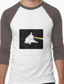 The dark side of the cat Men's Baseball ¾ T-Shirt