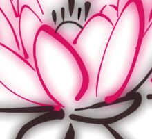 Meditation - Lotus - Om Mani Padme Hum  Sticker