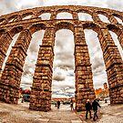 Aqueduct of Segovia by FelipeLodi