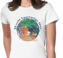 World Vegetarian Day Womens Fitted T-Shirt