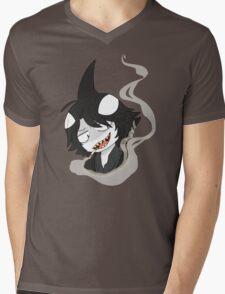Shark Bully Mens V-Neck T-Shirt