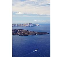 Scenic of the Cyclades Photographic Print