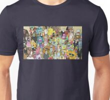 Zany Characters - Rick and Morty Unisex T-Shirt