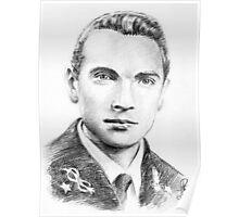 Pier Paolo Bergamini portrait Poster