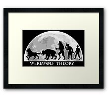 Werewolf Theory: The Change Framed Print