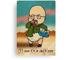 Baby Heisenberg Canvas Print
