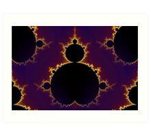Fractal Mandelbrot  Art Print