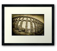 Old Aqueduct Framed Print
