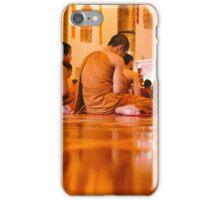 Monks in Thailand  iPhone Case/Skin