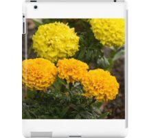 Yellow Marigolds iPad Case/Skin