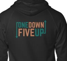 Motorcycle Cool Gear Change One Down Five Up Zipped Hoodie