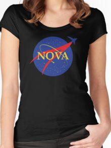 NOVA Women's Fitted Scoop T-Shirt
