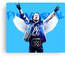 AJ Styles WWE  Canvas Print
