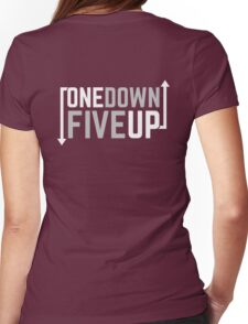 Motorcycle One Down Five Up Gear Shifter Womens Fitted T-Shirt