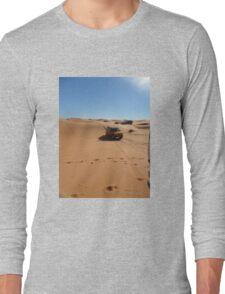 Atlas Travel Desert Caravan Tshirt Long Sleeve T-Shirt