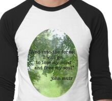 Into the Forest Men's Baseball ¾ T-Shirt