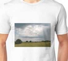Clouds on a summer day Unisex T-Shirt
