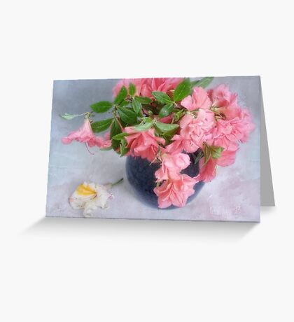 Azalea Time Greeting Card