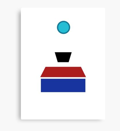 Minimalist Clap-Trap Canvas Print