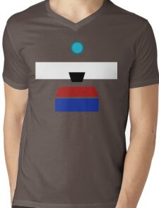Minimalist Clap-Trap Mens V-Neck T-Shirt