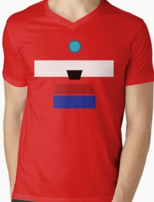 Minimalist Clap-Trap Mens V-Neck T-Shirt