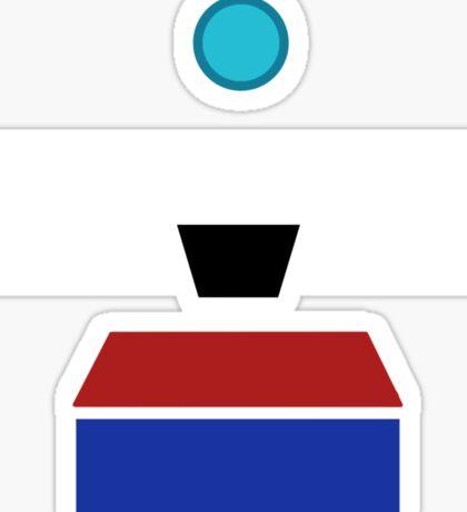 Minimalist Clap-Trap Sticker