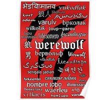 Werewolf in 33 Languages Poster