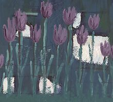 Tulips at Midnight by Eliza Fayle