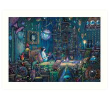 Howl's room in Moving Castle Art Print