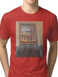 Atlas Travel Desert Caravan Tanger Tshirt Tri-blend T-Shirt