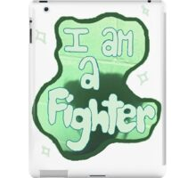 i am a fighter in this moment iPad Case/Skin