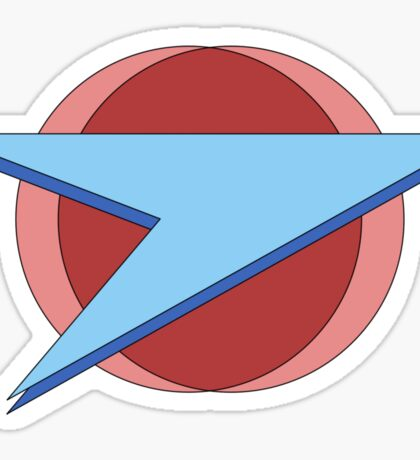 Blake's 7 - Federation Symbol (Full Size Version) Sticker