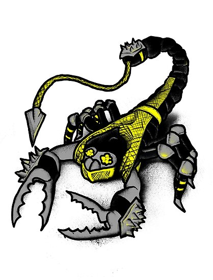 Realer Scorpion by Jonah Block
