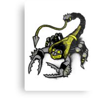 Realer Scorpion Metal Print