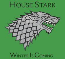 House Stark Direwolf Sigil Kids Clothes