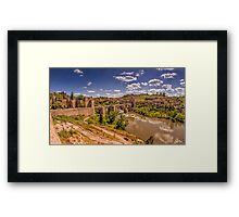 Don Quijote and Tagus Framed Print