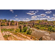 Don Quijote and Tagus Photographic Print