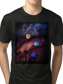 Space Planets Tri-blend T-Shirt