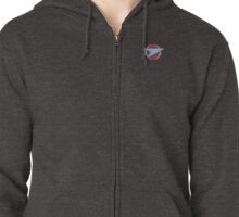 Blake's 7 - Federation Symbol (Pocket Version) Zipped Hoodie
