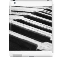 Steel dark holes iPad Case/Skin